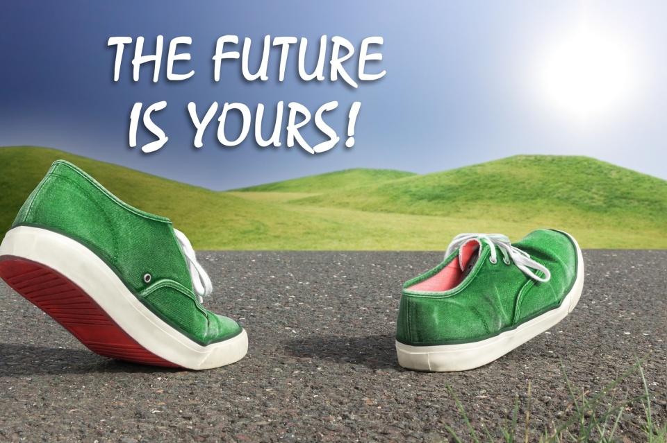 The future is yours!